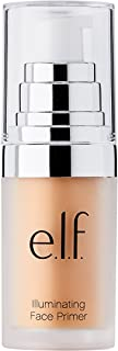 e.l.f. Cosmetics Illuminating Face Primer, Use as a Base for Your Makeup, Leaves Skin Glowing, 0.47 fl. oz.