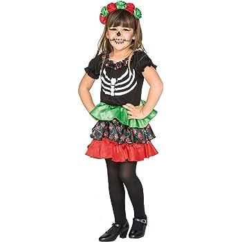 Fyasa 706465-T00 Catrina - Disfraz de niña para 2 – 3 años ...