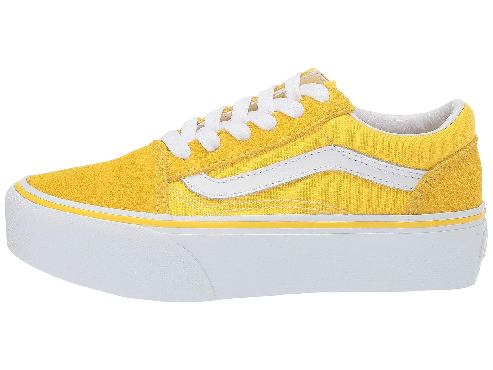 yellow old skool vans nz