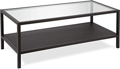 Henn&Hart Coffee Table, One Size, Black
