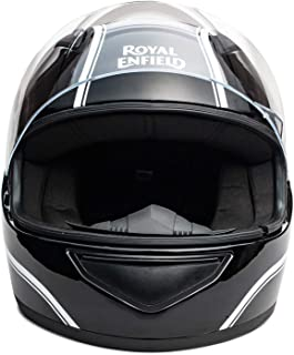 Royal Enfield Black Full Face With Visor Helmet Size (M)58 CM (RRGHEK000034)