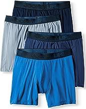 Jockey Life 4-Pack Men's Fresh Microfiber Stretch Assorted Boxer Briefs - Long Leg