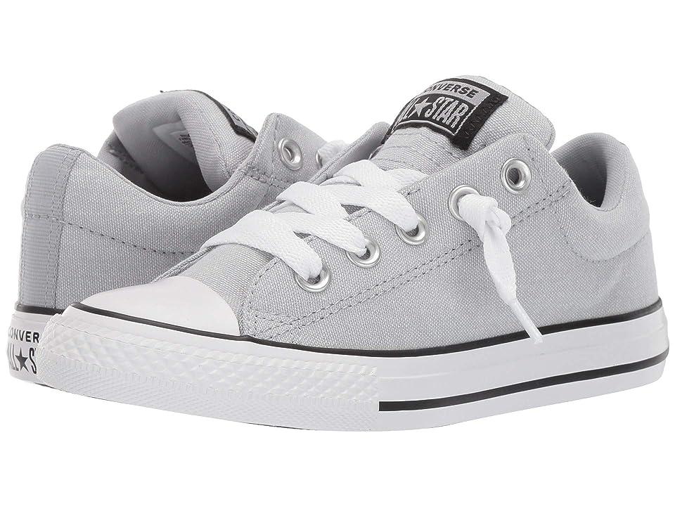 Converse Kids Chuck Taylor All star Street Urchin Slip (Little Kid/Big Kid) (Wolf Grey/Black/White) Boys Shoes