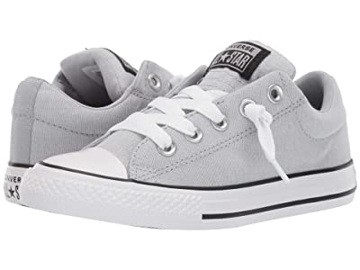 Converse Kids Chuck Taylor All star Street Urchin Slip (Little Kid/Big Kid) (Wolf Grey/Black/White) Boys Shoes