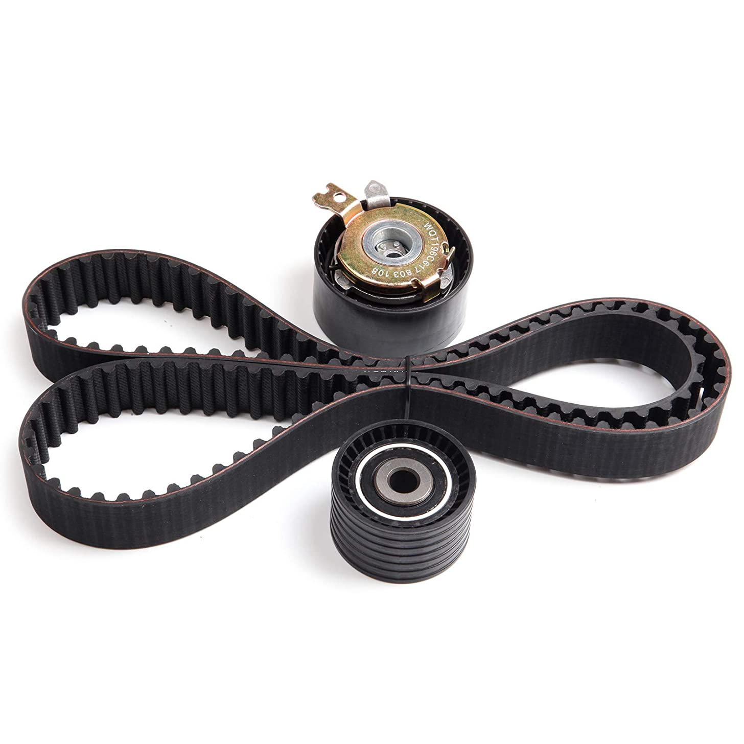 AUTOMUTO Timing Belt Kit TKTB331 Compatible for 2002-2008 Nissan Platina Renault Clio