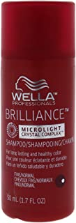 Wella Brilliance Shampoo For Fine to Normal Colored Hair for Unisex 1.7 oz Shampoo