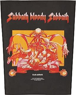 Men's Sabbath Bloody Sabbath Back Patch Black