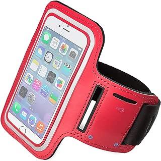 Funda Deportiva para iPhone 7 / iPhone 7 s. Correa/Banda de Brazo para Correr o Hacer Deporte. Disponible en Color Negro, Azul, Rojo y Rosa. (Color Rojo)