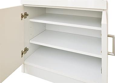 大川家具 nakakei キッチン収納 スコール 60cm幅 ホワイト 213184