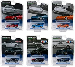 Greenlight 27870 General Motors Collection Series 1 Set of 6 DIECAST Cars 1:64