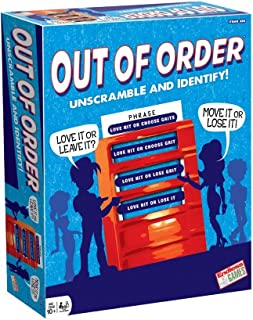 Out of Order - Title Unscrambling Game