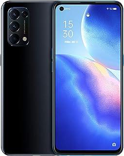 HJFGIRL 5G telefon komórkowy SIM Free Unlocked, Reno5 smartfony z systemem Android 10, podwójny SIM, cztery kamery, 12 + 2...