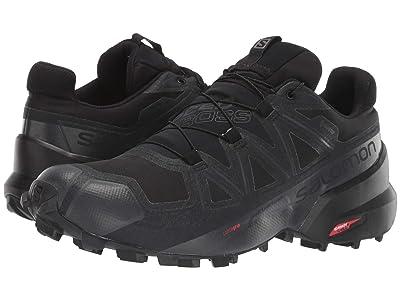 Salomon Speedcross 5 GTX(r) (Black/Black/Phantom) Men