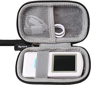 Aproca Hard Travel Case Compatible EMAY/CONTEC Handheld Portable ECG Monitor
