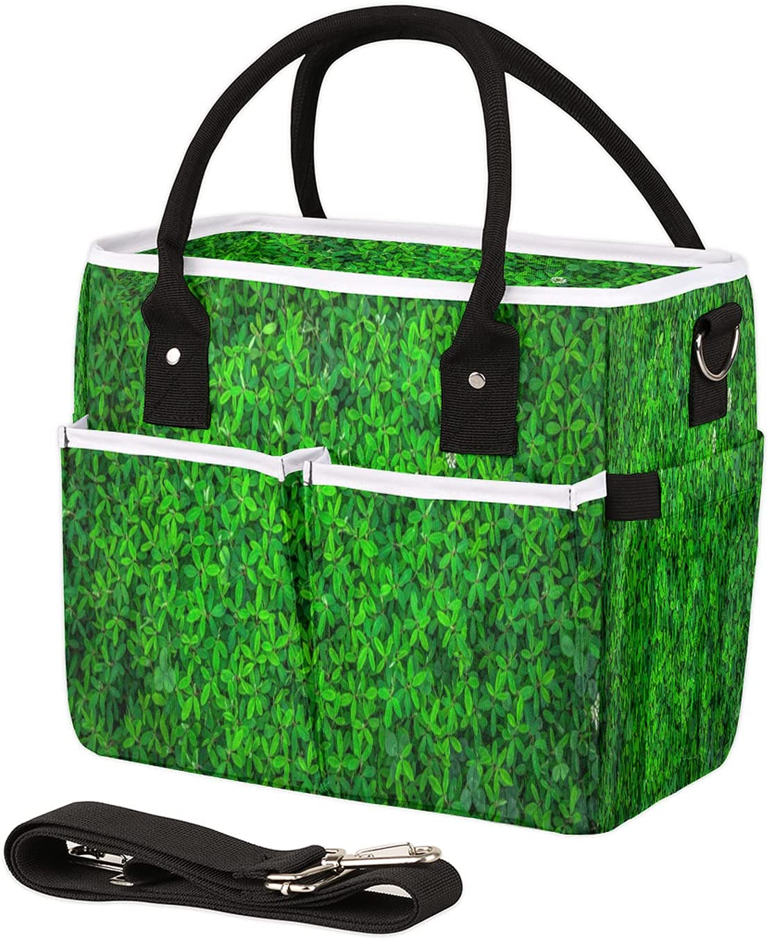 Insulated Lunch Today's only Bag for Max 72% OFF Women Leaves Leakproof Reusab Men Spring