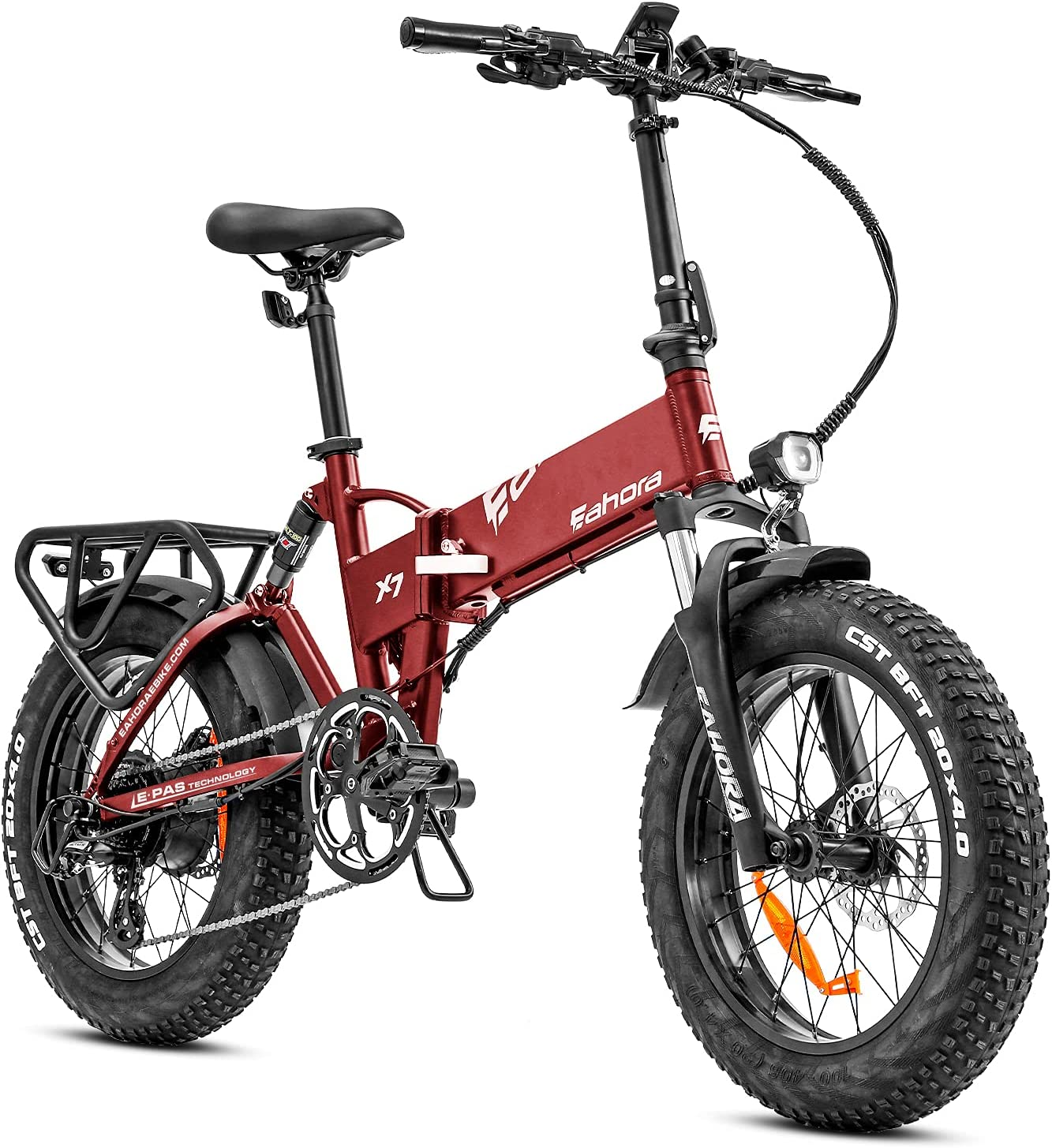 eAhora Electric Bike X7 Max 51% OFF Plus Fat 48V 750W Tires Spasm price Bicycle