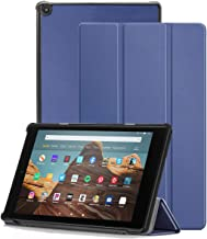 Case for Amazon Fire HD 10 Tablet (7th Generation and 9th Generation, 2017 and 2019 Release) - Slim Folding Stand Cover wi...