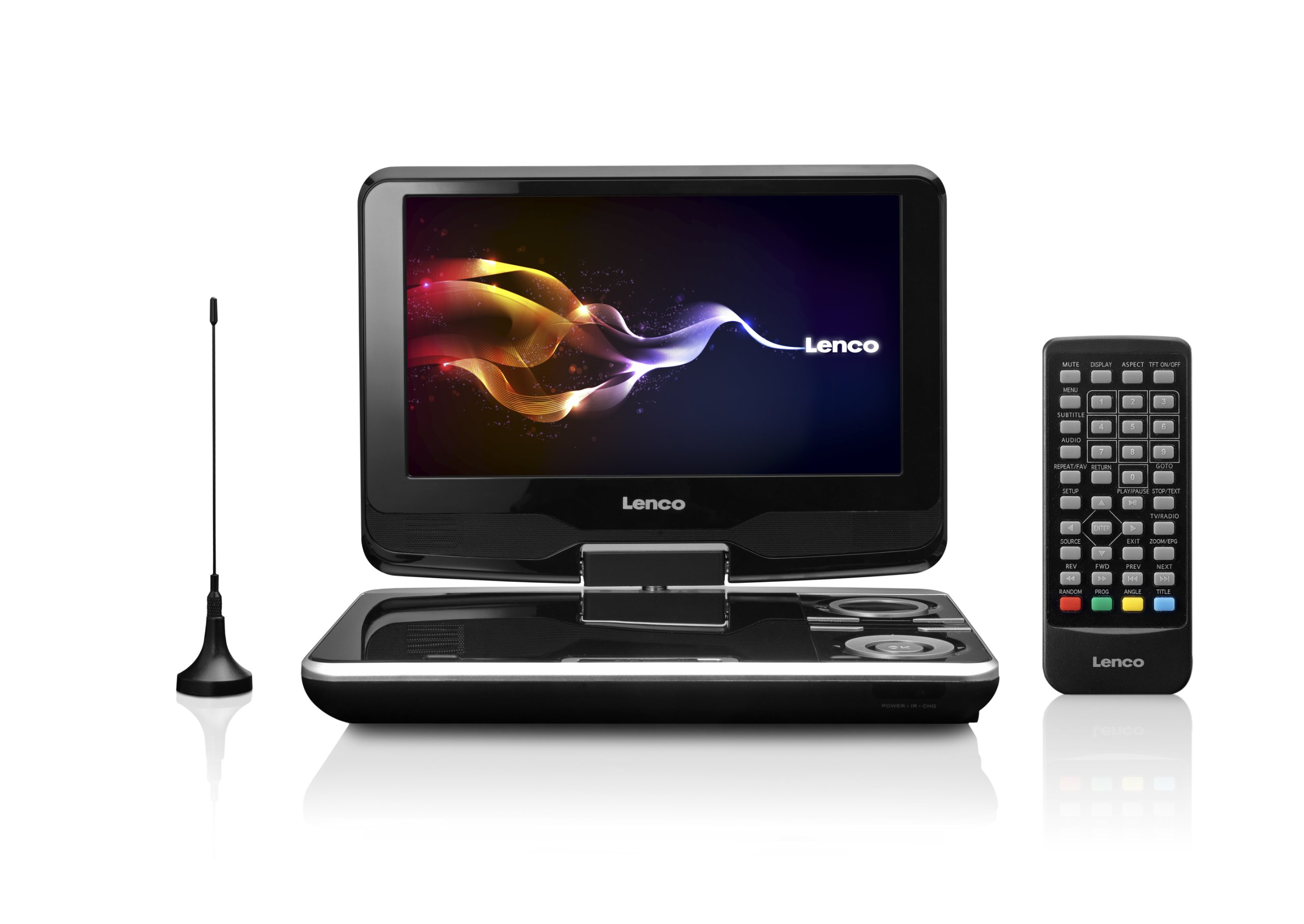 Lenco DVP-9411 - Reproductor de DVD portátil (pantalla de 9/22,9 cm, radio DVB-T, USB) (importado): Lenco: Amazon.es: Electrónica