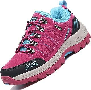 Unitysow Scarpe da Trekking Uomo Donna Arrampicata Sportive All'aperto Scarpe da Escursionismo Sneakers Unisex Impermeabil...