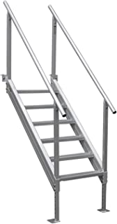 Extreme Max 3005.3846 Universal Mount Aluminum Dock Stair-6-Step