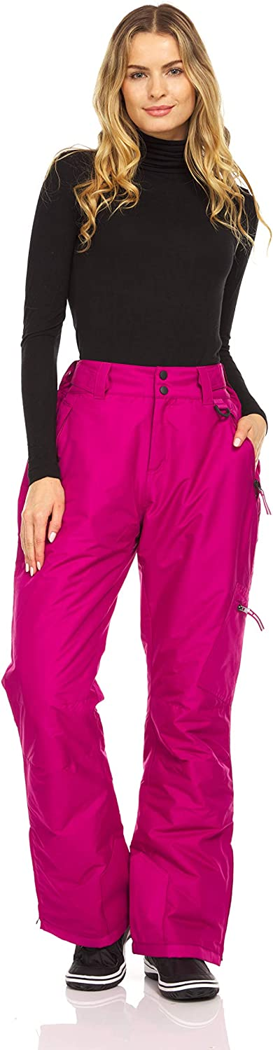 Arctic Quest Womens Insulated Ski Max 83% OFF Free shipping Snow Pants