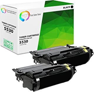 TCT Premium Compatible Toner Cartridge Replacement for Dell 330-9788 Black High Yield Works with Dell 5530DN, 5535DN Printers (25,000 Pages) - 2 Pack