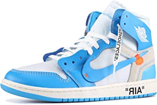 Jorden 1 Off-White Retro High Basketball Sneakers Casual Shoes