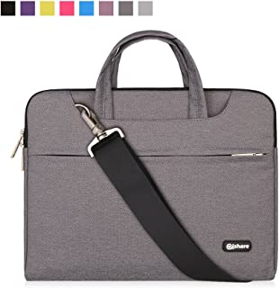 Qishare 15 15.6 16 inch Laptop Case Laptop Shoulder Bag, Multi-Functional Notebook Sleeve..
