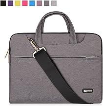 Qishare 10 11.6 12 اینچ لپ تاپ، کیسه های لپ تاپ، چند منظوره آستین نوت بوک، کیف حمل با بند برای Chromebook MacBook HP Stream سامسونگ Acer Asus Dell Lenovo (11.6-12 ''، خاکستری)