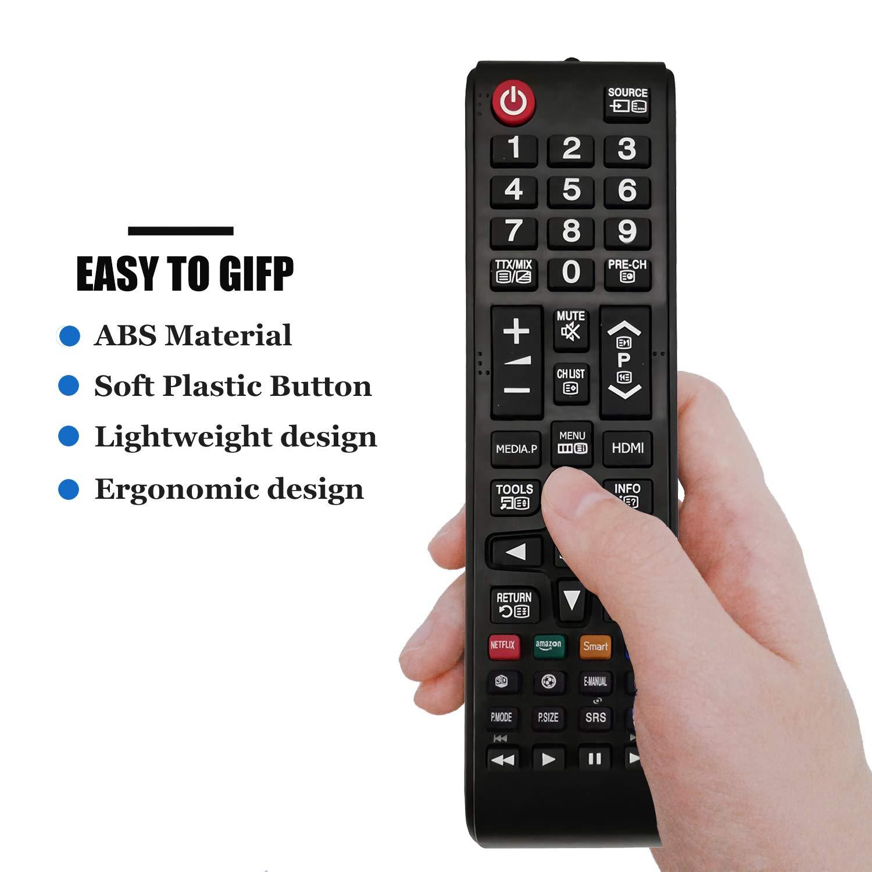 Reemplazo Mando a Distancia AA59-00741A para Samsung Smart TV BN59-01175N BN59-01199 AA59-00786A AA59-00602A BN59-01247A AA59-00743A: Amazon.es: Electrónica