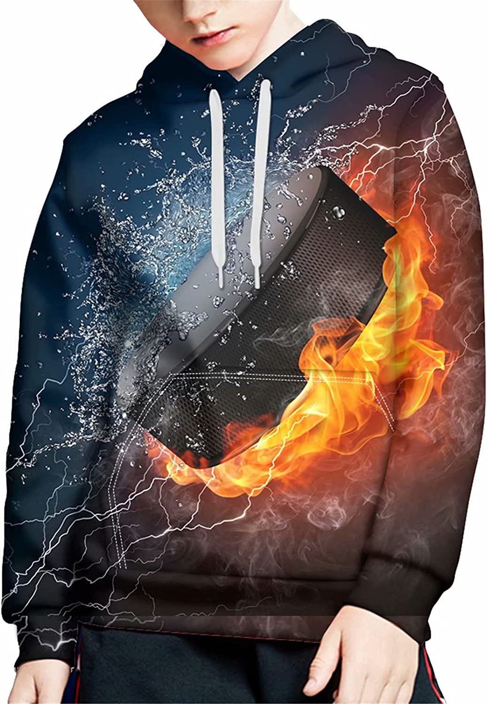 SEANATIVE Pullovers Hoodies for Teen Girls Boys Long Sleeve Sweatshirt with Kangaroo Pocket Women Tops