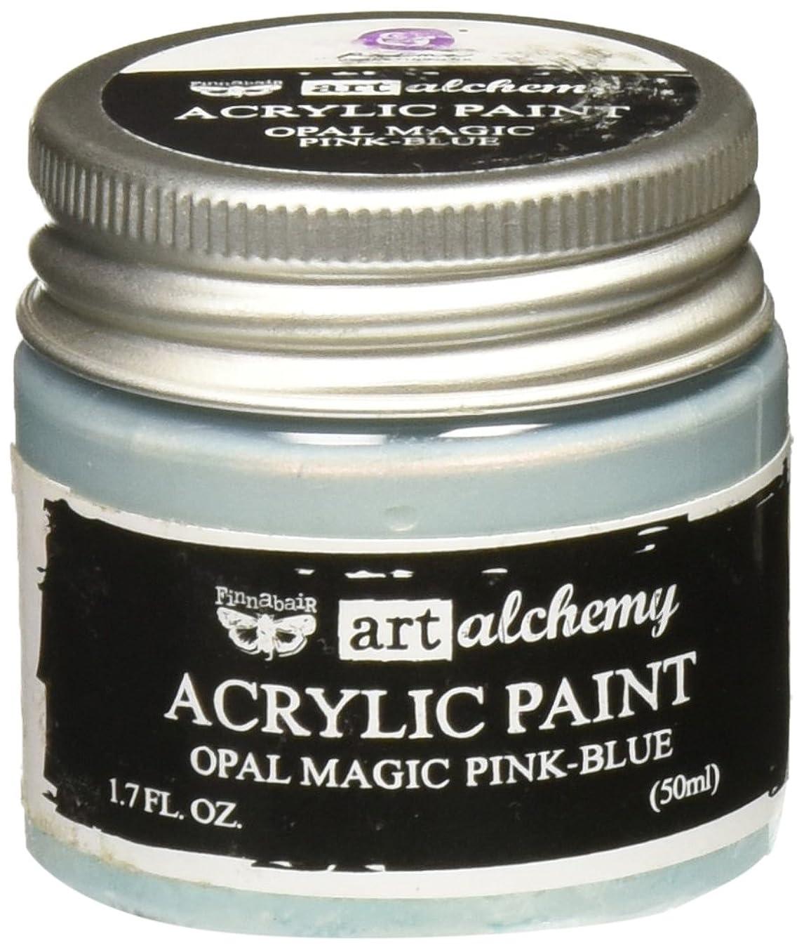 Prima Marketing 963668 Finnabair Art Alchemy Acrylic Paint, 1.7 fl. oz, Opal Magic Pink/Blue