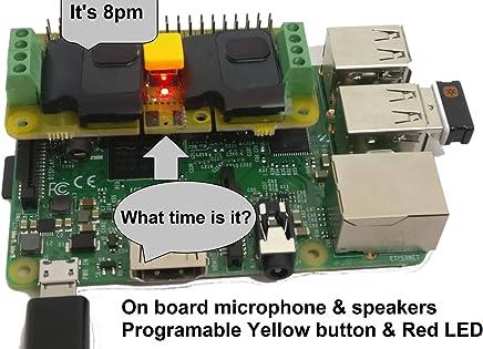 RASPIAUDIO.COM Audio DAC HAT Sound Card (Audio+Speaker+MIC) for Raspberry Pi Zero / Pi3 / Pi3B / Pi3B+ / Pi2 / Better Quality Than USB