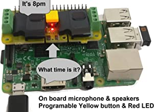 RASPIAUDIO.COM Audio DAC HAT Sound Card (Audio+Speaker+MIC) for Raspberry Pi4 /Pi Zero / Pi3 / Pi3B / Pi3B+ / Pi2 / Better Quality Than USB