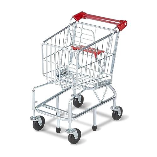 1f0f05490de7 Melissa & Doug Toy Shopping Cart With Sturdy Metal Frame