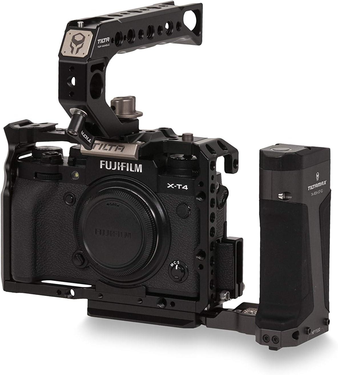 Max 84% OFF Tiltaing Fujifilm X-T3 X-T4 B - Branded goods Kit Black