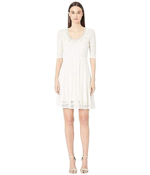 M Missoni Knitted Short Sleeve Dress