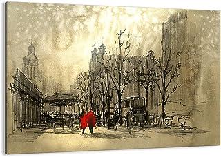 ARTTOR Impression sur Toile - Tableaux, Posters et Arts Décoratif - Tableau Decoration Salon - Toutes Tailles et Différent...