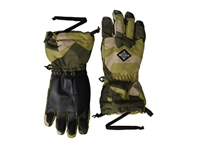 Burton Kids Profile Glove (Little Kid/Big Kid) (Three Crowns Camo) Extreme Cold Weather Gloves