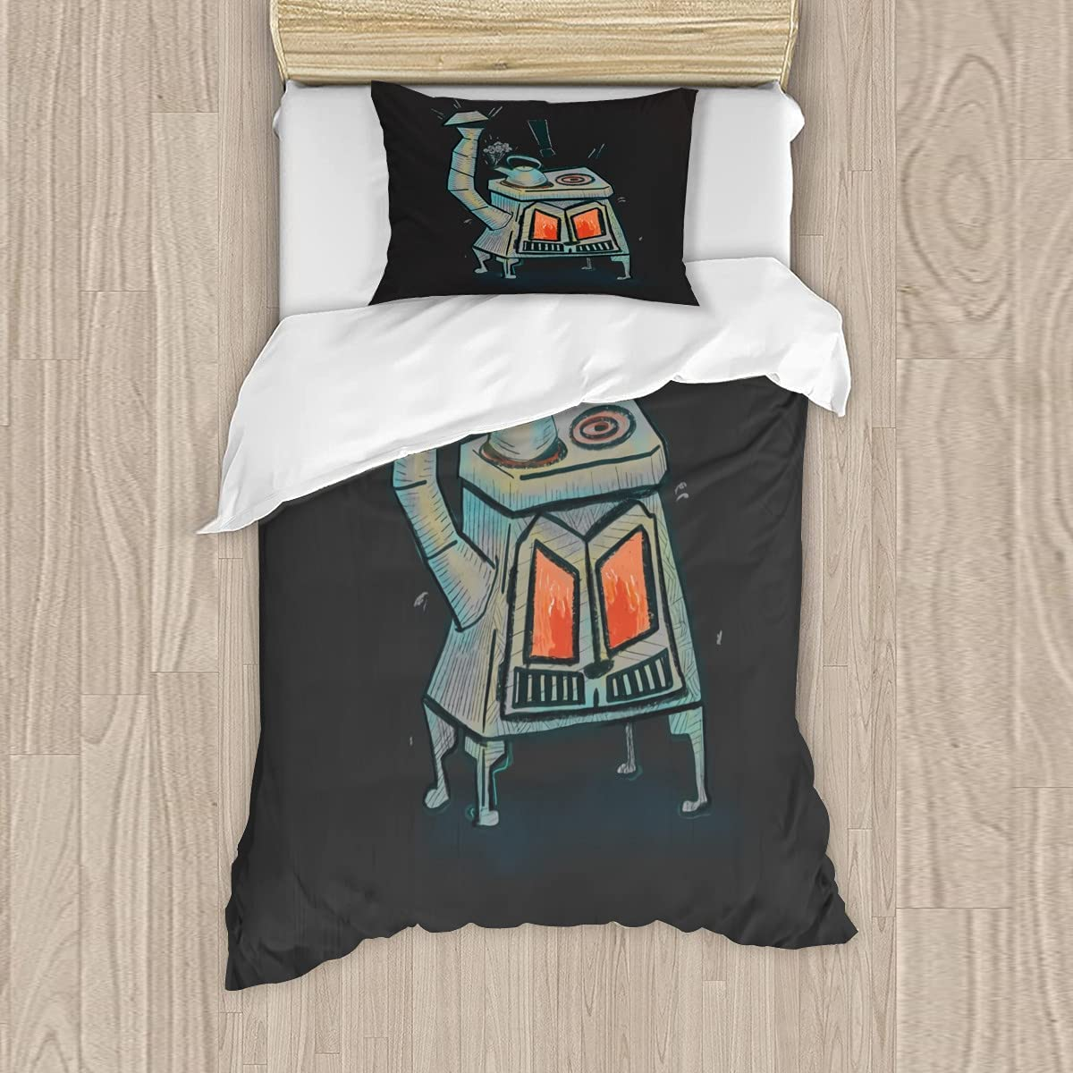 Angry Oven is Jacksonville Mall Bedding Sets 3 Qu Austin Mall Cover Printed Quilt Pieces
