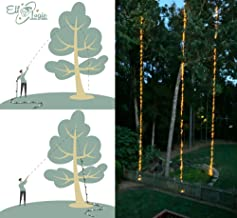 Elf Logic - Shot Lights - Tall Tree Christmas Lights Outdoor Kit - Shoots Three 60 ft LED String Lights into Your Trees - Create Beautiful Outdoor Christmas Light Displays - No Ladder Required