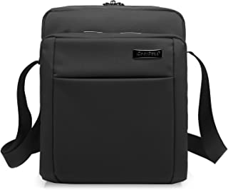 b850545f67 CoolBELL 10.6 Inches Shoulder Bag Oxford Cloth Messenger Bag iPad Carrying  Case Functional Hand Bag Briefcase