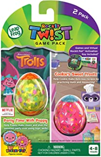 LeapFrog RockIt Twist Dual Game Pack: Trolls Party Time With Poppy and Cookie's Sweet Treats