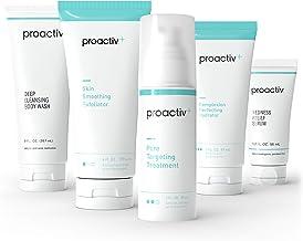Proactiv+ 3 Step Advanced Skincare Acne Treatment - Benzoyl Peroxide Face Wash, Salicylic Acid Exfoliator For Face And Por...