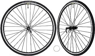 CyclingDeal Mavic CXP Road Bike Bicycle Novatec Hubs Continental UltraSport Tire Wheelset Compatible with Shimano Sram 11 Speed 700C Front 8x100mm Rear 9x130mm QR
