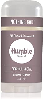 Sponsored Ad - Humble Brands All Natural Aluminum Free Deodorant Stick for Women and Men, Lasts All Day, Safe, and Certifi...