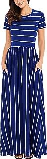 Best cap sleeve striped dress Reviews