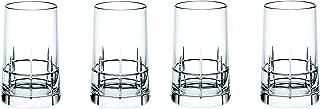 Christofle Graphik Set of 4 Crystal Vodka Shot Glasses #7945440