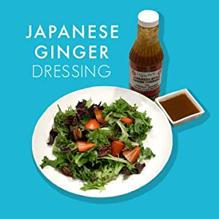 Japanese Steakhouse Food Ginger Salad Dressing Or Marinade - 16 Ounce Bottle by Terry Ho's (3)