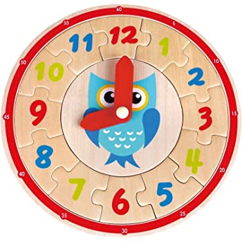 Multicolour Lelin 38254 Toys-Learning Clock